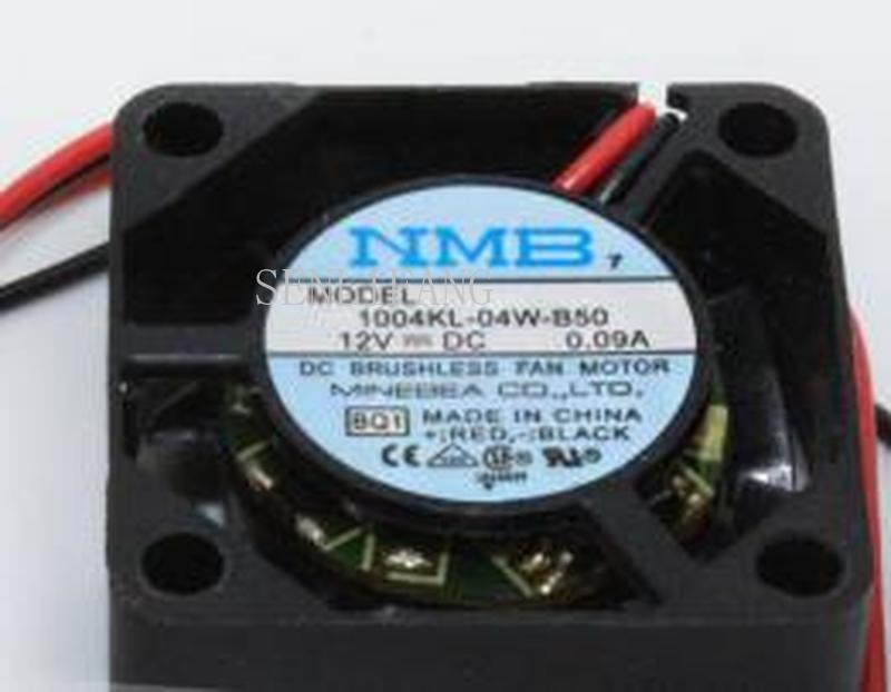 For NMB 2.5CM 1004KL-04W-B50 2510 12V 0. 09A 2WIRE Cooling Fan 1004KL-04W-B40