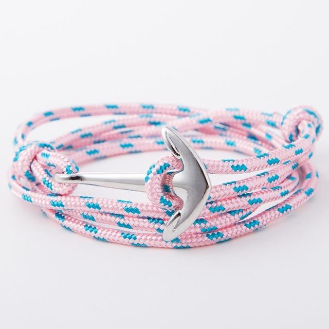 Risers Silver Anchor Bracelet