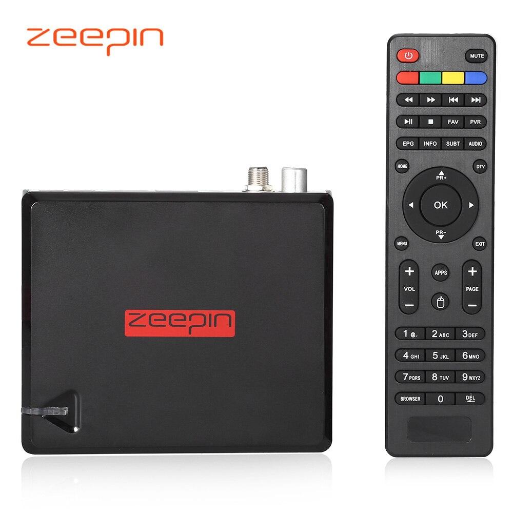 Prix pour Zeepin KII Pro DVB T2 S2 Quad-core 2 GB/16 GB Android 5.1 Smart Set Top TV Box Amlogic S905 Double Wifi Bluetooth Media Player