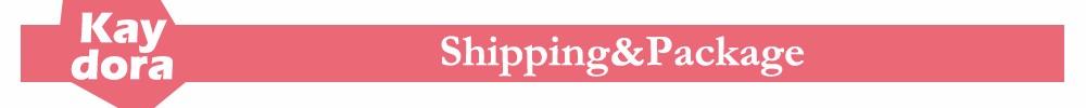 shipping&pacakge
