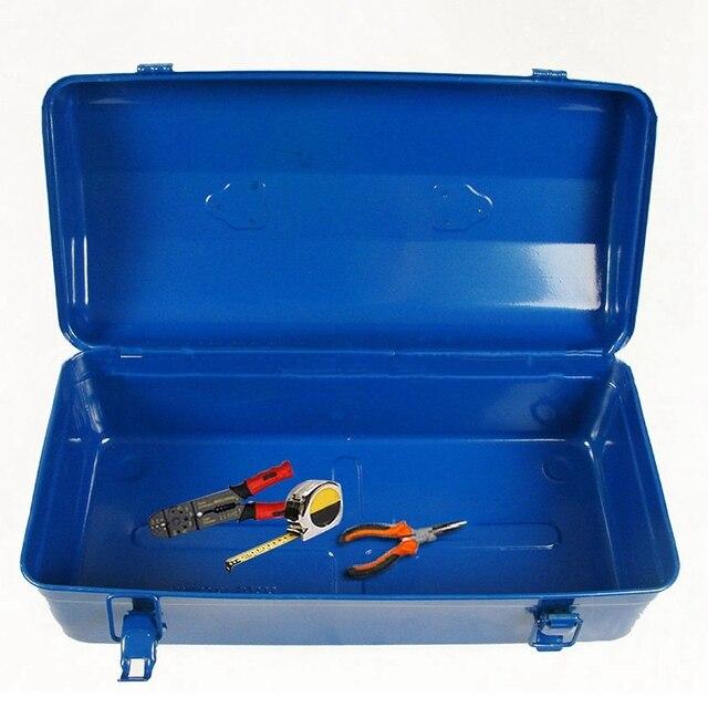 Workshop Storage Bin Tool Container Metal Tools Box Garage Organizer Repair  Case Storage Organizer Box Portable