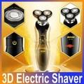 Nuevo de Alta Calidad Venta Caliente 4D máquina de Afeitar Eléctrica Recargable Lavable Afeitadora Cuidado de La Cara 3D Flotante de Afeitar para Los Hombres de Afeitar