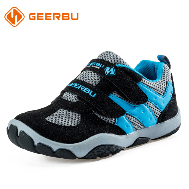 GEERBU Good Quality Children Outdoor Shoes Girls Boys Breathable Sneakers Kids  Sport Running Shoes Kids Casual Shoes 06b568b13