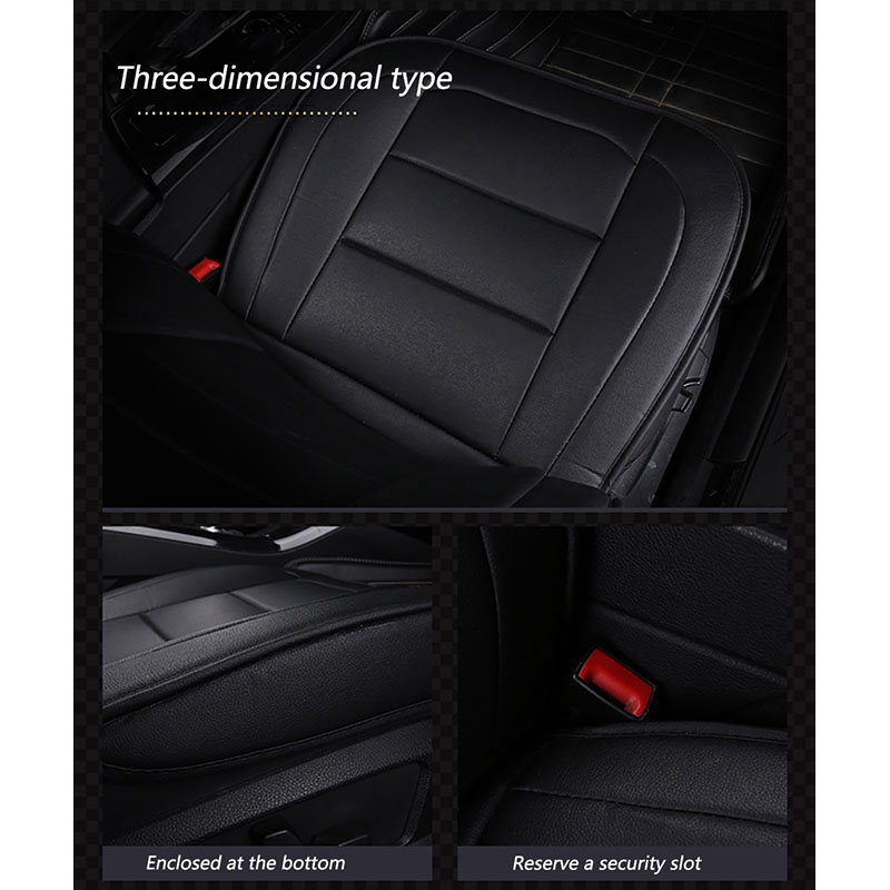 2 x Fronts Heavy Duty Black Pair Waterproof Car Front Seat Covers Protectors For Citroen C3