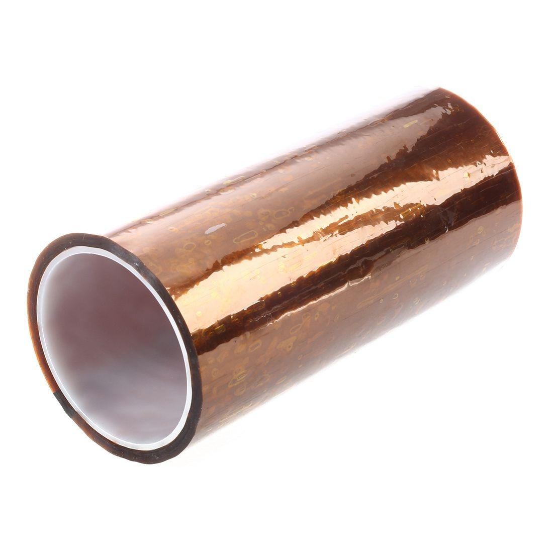 10pcs //Lot 10mm x 33m High Temperature Heat Resistant Kapton Tape 100ft