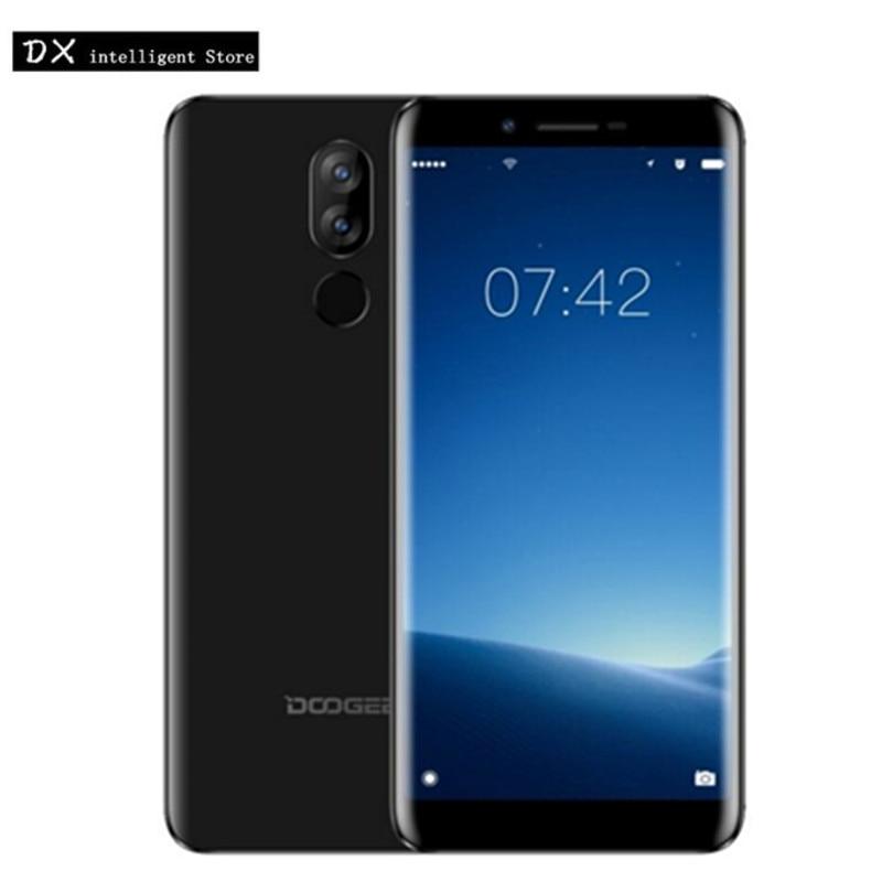 DOOGEE X60L MT6737 четыре ядра мобильный телефон 5,5 18:9 полный экран 2 ГБ 16 ГБ Android 7,0 13MP двойной CAM Быстрая зарядка ОТА отпечатков пальцев
