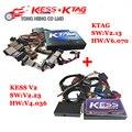 Más reciente No Token Limitación KESS V2 V2.28 FW V4.036 incluye todos los versión SW OBD2 Gerente V2.13 FW V6.070 KTAG ECU Programación DHL