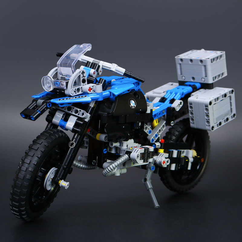 Models building toy 20032 603pcs Off-road Motorcycles R1200 GS Building Blocks Compatible with lego technic 42063 toys & hobbies конструктор lego technic 42063 приключения на bmw r 1200 gs