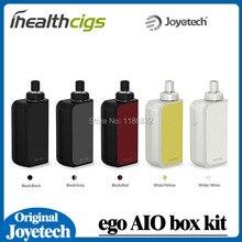 100%  Original Joyetech eGo Aio Box Mod Kit 2100mAh Battery Box with 2ml Capacity Atomizer BF SS316 0.6ohm MTL Core eGo Aio