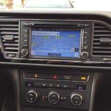 Navirider Android 9,0 автомобильный Радио плеер для Seat LEON DVD Автомобильный gps головное устройство мультимедийная поддержка AUX камера и руль