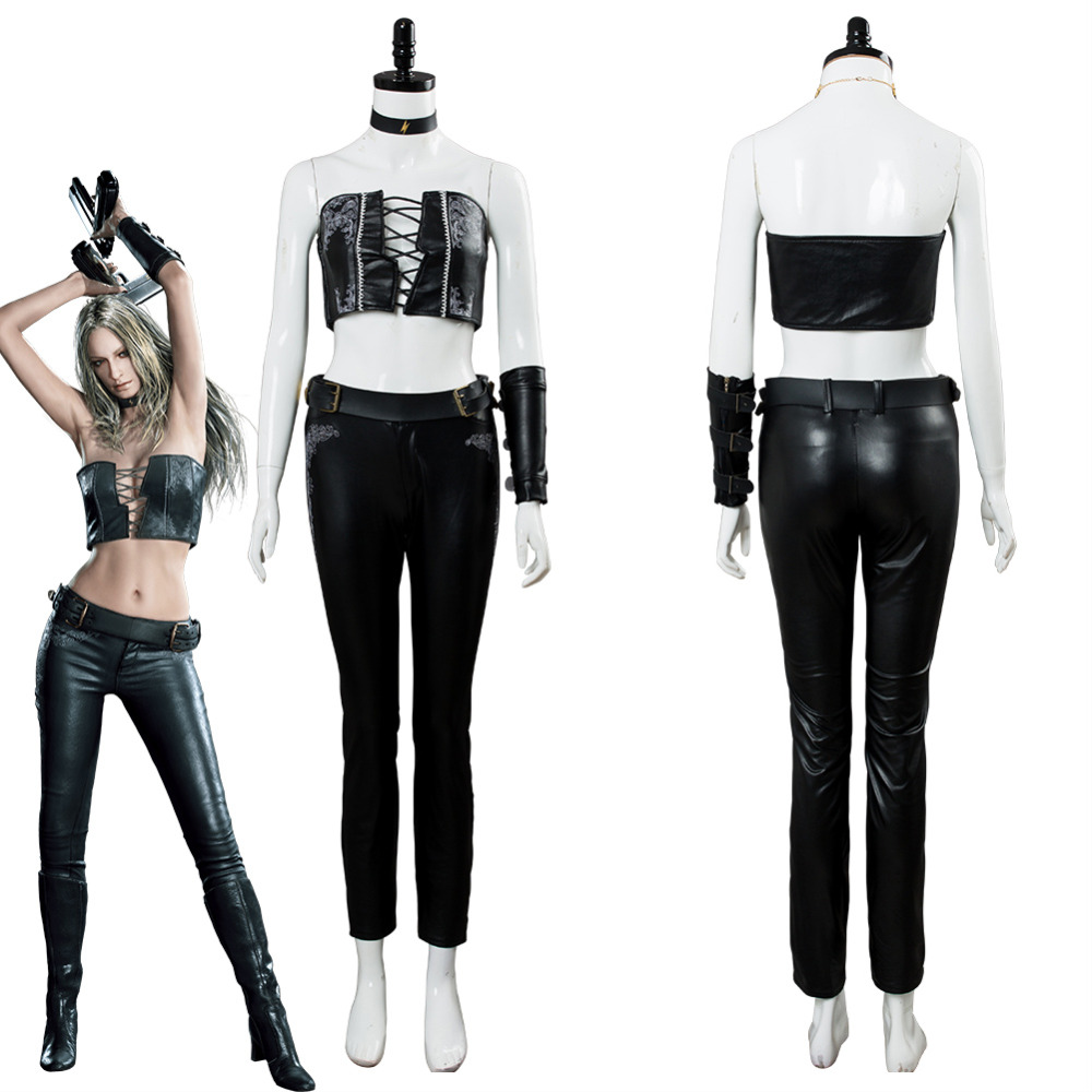 Devil May Cry 5 Cosplay Trish Una Cosplay Costume Uniform Halloween Carnival Costumes