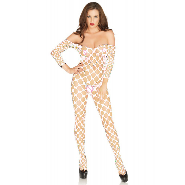 Sexy Lingerie hot Bodysuit Sexy Costumes Intimates Women Bodystocking open crotch sex products  erotic lingerie Chemises qq166
