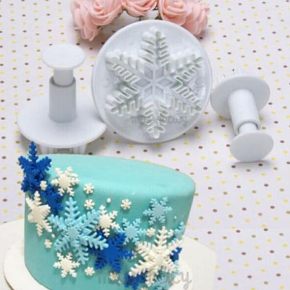 Cake Decorating Solutions Fondant : Snowflake Fondant Cake decorating tools