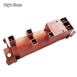 220 В газовая плита переменного тока импульсный воспламенитель с 4 клеммами газовый водонагреватель части Искра воспламенитель для варочной...