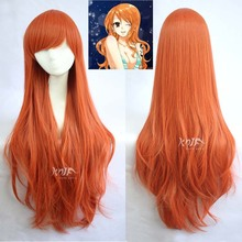 High quality ONE PIECE hair accessories 250g 85cm hair jewelry for Nami cosplay wigs