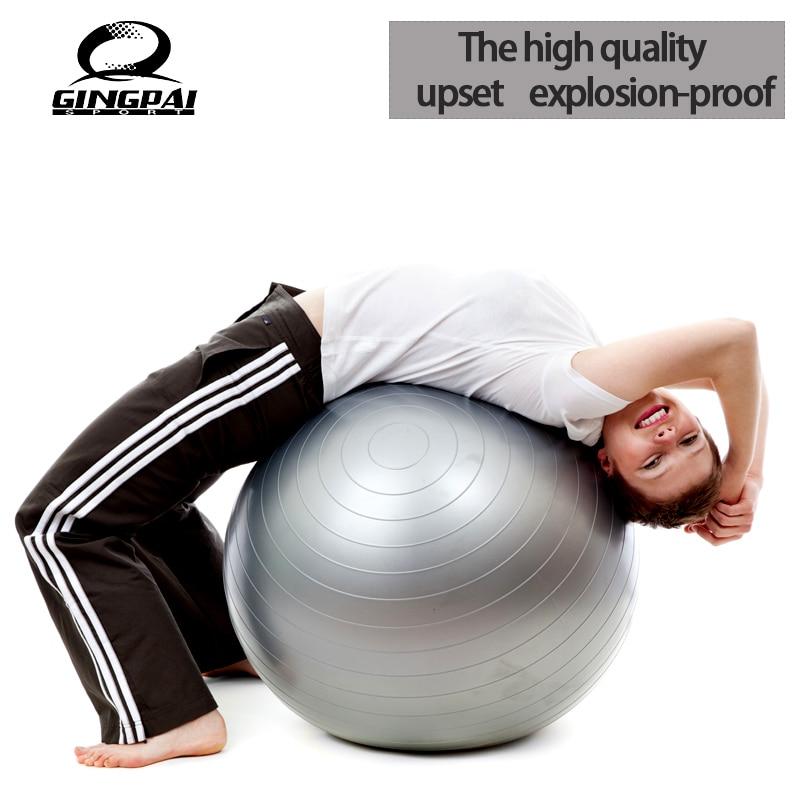 ୧ʕ ʔ୨55 cm yoga bola de la aptitud física ejercicio balanza bola ...