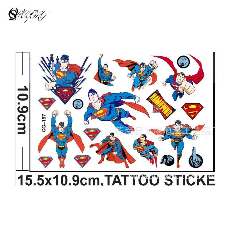 Lovely Minnie temporary tattoo body art children flash tattoos 15 * 11centimeters waterproof tattoo modelling wall stickers