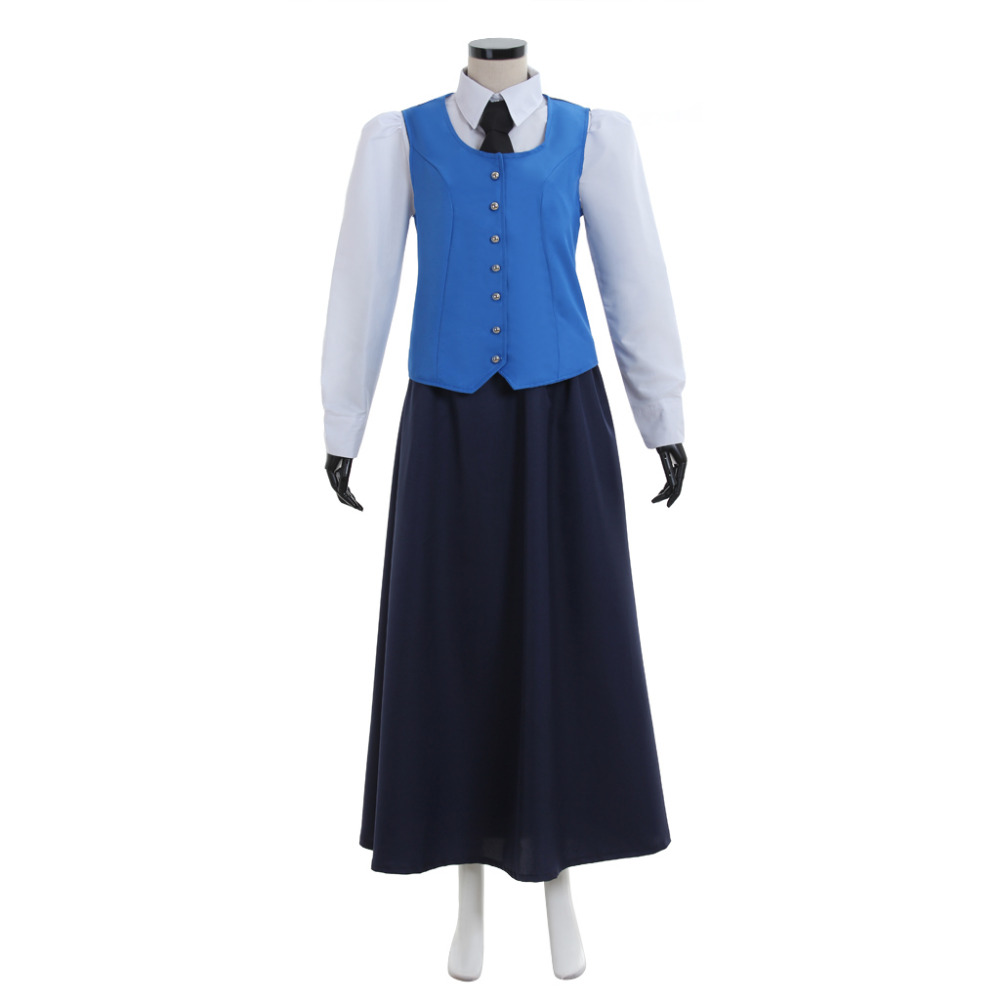 Doctor Who Cosplay Doctor Who Jenny Flin Dress Costume Halloween Carnival Costume Cosplay For Adult Women
