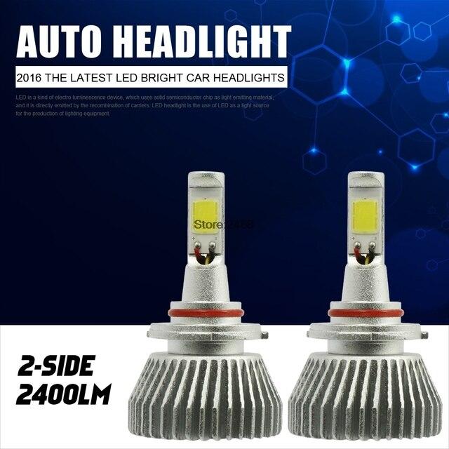 9005 HB3 LED Headlight Kit 9006 HB4 Headlamp Fog Light Vehicle Car Beam Bulb 60W