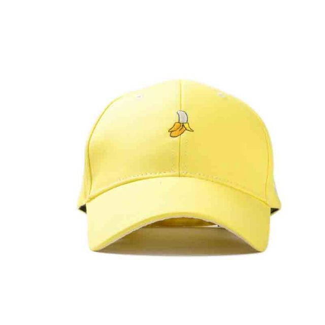 Fashion cotton soft sister banana fruit hat leisure shopping lovers cap  snapback baseball cap female spring caps 145cfc20d14