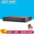 CCTV DVR 16CH AHD 16 Canal Digital Video Recorder AHD-NH 1080N Casa De Segurança 1080 P Saída HDMI entrada híbrido Onvif P2P 3G WI-FI