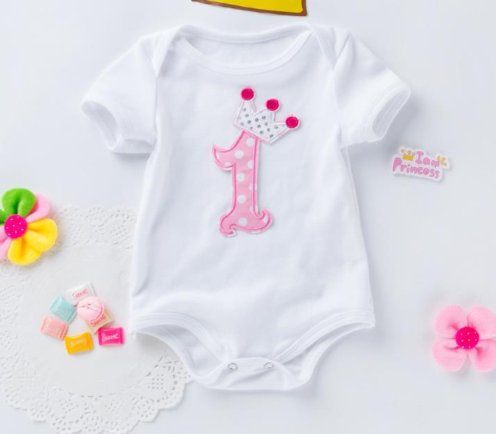 Aliexpress.com : Buy 1st Birthday Romper 2 Year Birthday