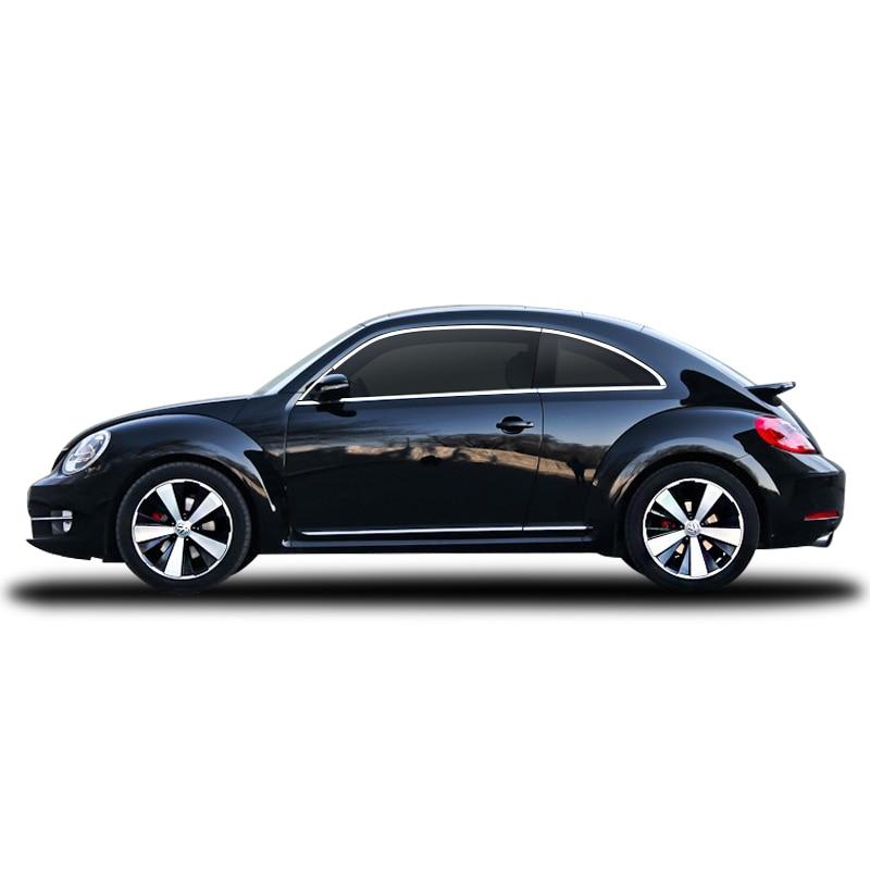 Lsrtw2017 304 Stainless Steel Car Window Trims For Volkswagen Beetle