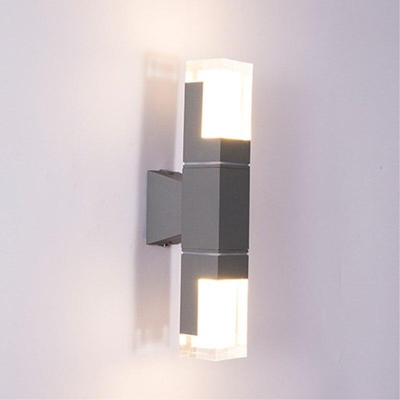 lampada de parede arandela jardim terraco varanda corredor iluminacao 110v 220v 04