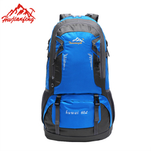 Women Men Backpack Sport Travel Bag Nylon Waterproof 60L Outdoor Climbing Casual Camping Hiking Sports Backpacks
