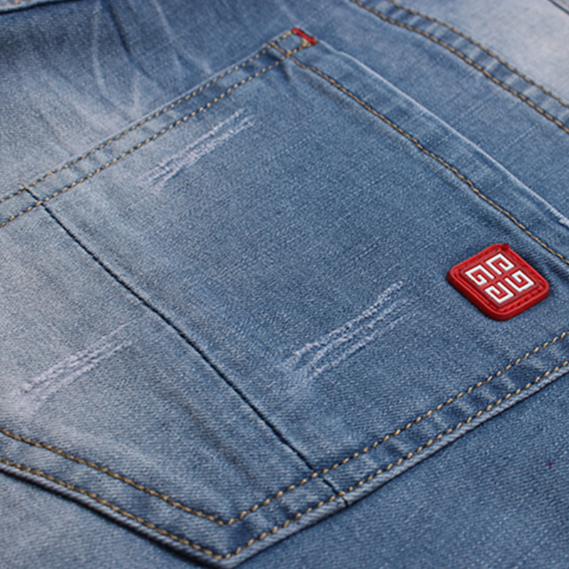 2017 new arrival summer style men denim short jeans Mens casual fashion short jeans Men high quality blue straight jeans