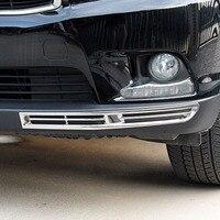 Für Toyota Highlander Kluger 2014 2015 2016 2017 2018 ABS Kunststoff Auto Styling front stoßstange nebel lampe licht Rahmen abdeckung Trim Chrom-Styling    -