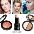 Focallure Make Up set Bling Highlighter stick Blush Bronzer &Highlighter Baked Blush Bronzer Blusher Makeup kit Gift