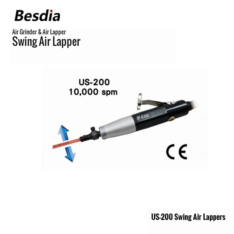 تایوان Besdia آسیاب هوا و هوا Lapper US-200 Swap Air Lapers ابزارهای پنوماتیک