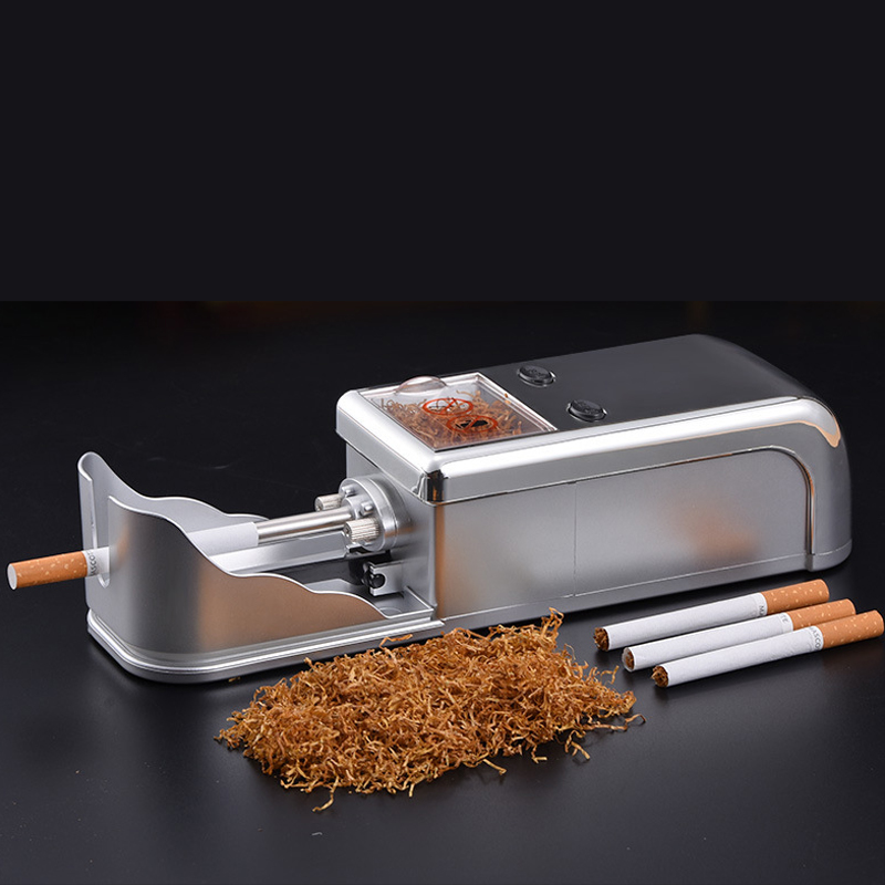 full automatic strong power Metal Tobacco Roller Cigarette