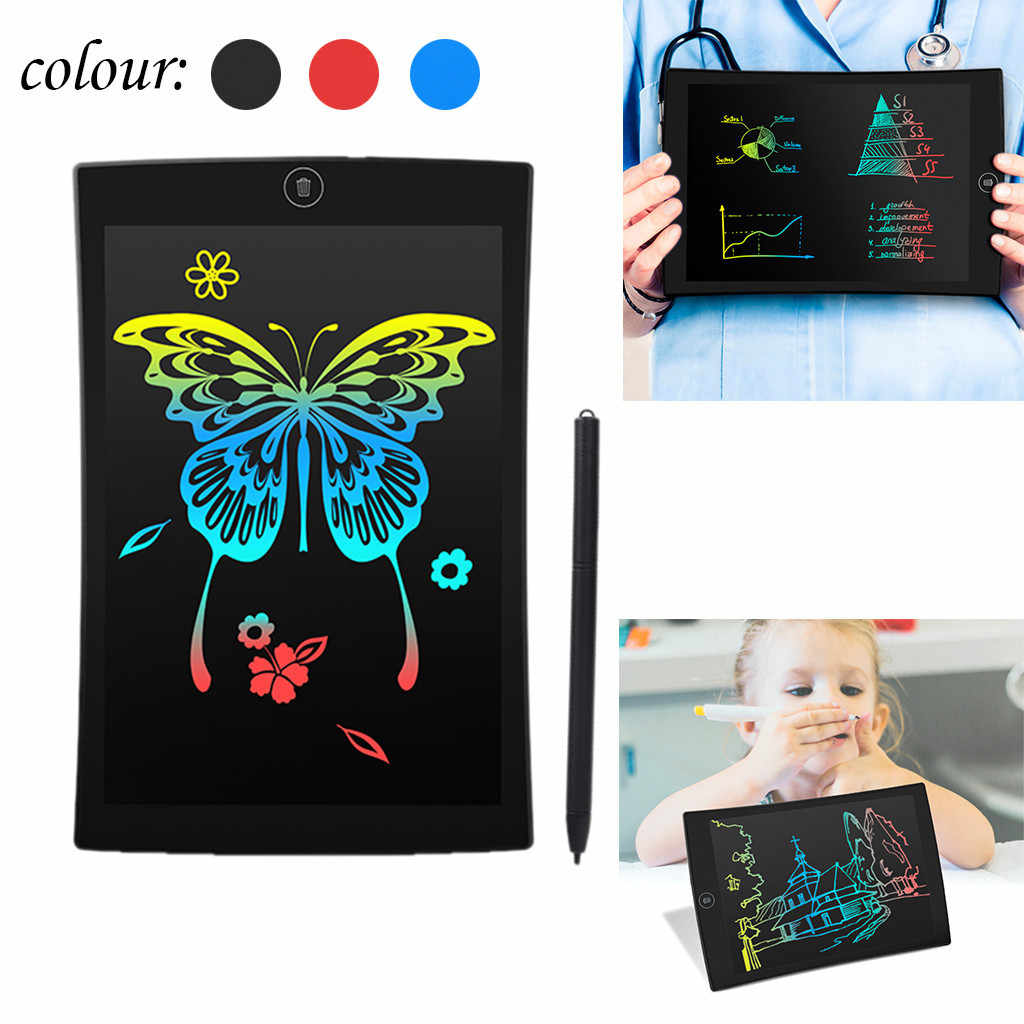 for wearable devices 9.5 Inch Color LCD Writing Pad Digital Drawing Tablet Electronic Graphic Board for relogio inteligente