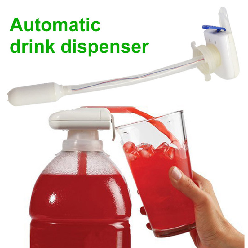 Automatic Drink Dispenser Magic Tap Beverage Water Bottles Electric Dispenser for Milk Party Outdoor Home Kitchen Tool Ёмкости для напитков с краном