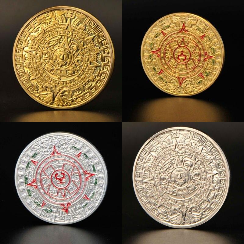 mayan gold coin