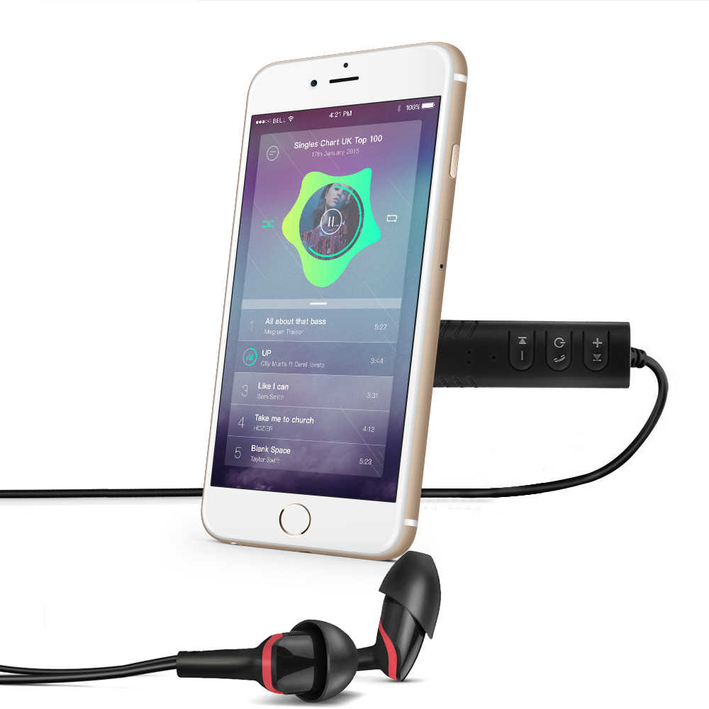 Bluetooth Aux мини аудио приемник Bluetooth передатчик 3,5 мм разъем громкой связи Авто Bluetooth автомобильный комплект музыкальный адаптер Aux Bluetooth