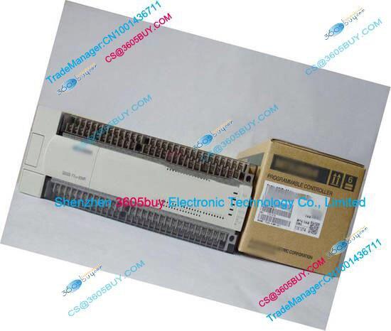 New Original FX2N-80MR-001 PLC Main Unit DI 40 DO 24 Relay AC 220V