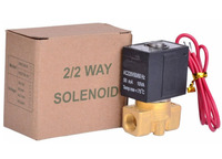 3/8 2/2 way Normally closed type air,water.steam,gas brass solenoid valve DC12V,DC24V,AC24V,AC110V,AC220V,AC380V