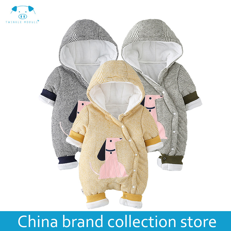 winter rompers newborn boy girl clothes set baby fashion infant baby brand products Christmas newborn romper MD170D116