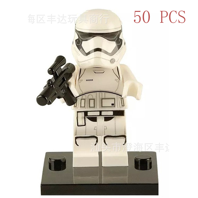 Pogo gifts Wholesale 50PCS XH151 Imperial Stormtrooper Imperial Star Wars Building Blocks Bricks Toys Compatible Legoe ...