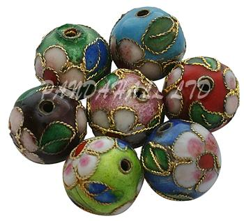 6/8/10/12mm 200pcs Jewelry Handmade Brass Metal Loose Beads Wholesale Finding Accessoriess Component Round Mixed Color