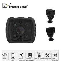 1080p Wearable IP Camera Motion Sensor Bike Body Micro Mini DV DVR Magnetic Clip Voice wifi Camera