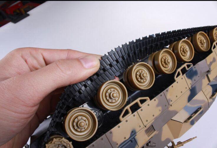 1:24 réservoir de combat RC à grande échelle recharge radio à distance batterie armée modèle militaire rc réservoirs jouet cadeau SINONING - 4