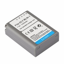 BLN 1 1220MAH 7 6V Rechargeable Li ion Battery Digital Camera Battery Pack For OLYMPUS OM