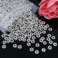 500pcs/lot Spacer Metal Beads Zinc Alloy Antique silver Round Beads DIY Jewelry Making Accessories 5x5mm Hole:1mm K04349