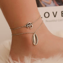 Beads Pendant Anklet Foot Chain Ankle Snow Bracelet Charm Leaf Anklet Tassel Beach Vintage Foot Jewelry Gift(China)