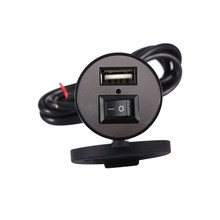12V USB Car Charger Mobile Phone Power Supply Auto Port Socket Waterproof New