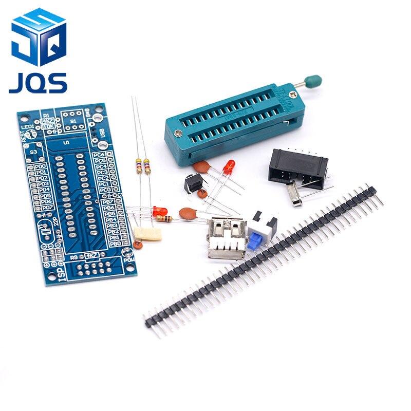 ATMEGA8 ATMEGA48 ATMEGA88 Development Board AVR (NO Chip) DIY KitATMEGA8 ATMEGA48 ATMEGA88 Development Board AVR (NO Chip) DIY Kit